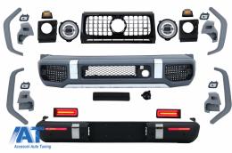 Pachet Exterior de Conversie 2018+ G63 AMG Design compatibil cu MERCEDES W463 G-Class (1989-2018) - CBMBW463AMGNL