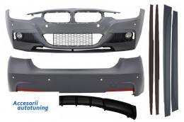 Pachet Exterior M-Performance BMW F30 (2011-2014) & F30 LCI Facelift (2015-up) M-Performance Design Evacuare Single - COCBBMF30MPLCILO