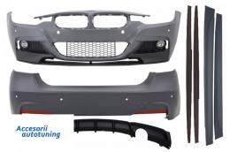 Pachet Exterior M-Performance BMWBMW F30 (2011-2014) & F30 LCI Facelift (2015-up) M-Performance Design Evacuare Single