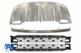 Pachet Exterior Prelungiri Off Road cu Praguri Laterale compatibil cu Porsche Cayenne 958 (2010-2014) - COCBPOCY