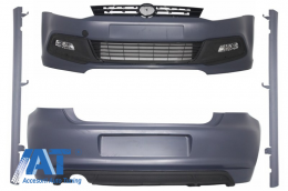 Pachet  Exterior Complet compatibil cu VW Polo 6R (2009-up) R-Line Design - CBVWP6RRL