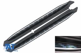 Praguri Laterale compatibil cu MERCEDES GLE W167 (2019-up) cu LED - RBMBGLEW167L