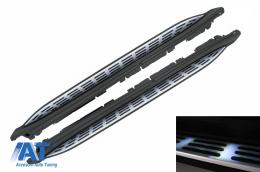 Praguri Laterale compatibil cu Mercedes GLS SUV X167 (2020-up) cu LED - RBMBGLSX167
