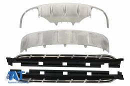 Praguri Laterale Placi de Protectie Off Road SUV compatibil cu PORSCHE Macan 2014-2016 - CORBPO02