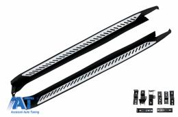 Praguri Laterale Trepte Laterale compatibil cu BMW X4 F26 (2014-up) OEM Design - RBBM06