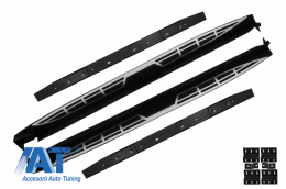 Praguri Laterale Trepte Laterale Metal compatibil cu HYUNDAI Santa Fe (2014-up) - RBHYSFE2