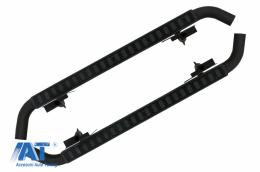 Praguri trepte Laterale 110 compatibile cu Land ROVER Defender (1990-2016) Black Edition - RBLRD110