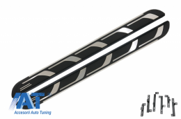 Praguri Trepte Laterale compatibil cu AUDI Q5 8R (2008-2016) KITT Design - RBA02B