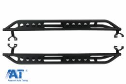Praguri trepte laterale compatibil cu Jeep Wrangler / Rubicon JK (2007-2017) 4 Usi - RBJEWJK4DARM