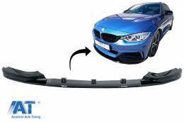 Prelungire Bara Fata compatibil cu BMW Seria 4 F32 F33 F36 (2013-03.2019) M-Performance Negru Lucios