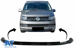Prelungire Bara Fata Extensie Add-on compatibil cu VW Transporter T6 (2015-up) Negru Lucios - FBSVWT6OE