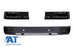 Prelungire Bara Fata Extensie Add-on cu Lumini de zi cu LED DRL compatibil cu VW Transporter T6 (2015-up) - COFBVWT6DRL