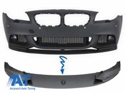 Prelungire Bara Fata Film Carbon compatibil cu BMW Seria 5 F10 F11 (2011-2017) M-Performance Design - FBSBMF10MPCF