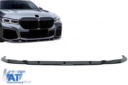 Prelungire Bara Fata Negru Lucios compatibil cu BMW Seria 7 G12 LCI M Sport (02.2019+) Negru Lucios - FBSBMG12M