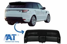 Prelungire Bara Spate compatibil cu Land Rover RANGE ROVER SPORT L494 (2013-2017) Negru Lucios - LBR14026