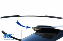 Prelungire Eleron Luneta compatibil cu Audi Q8 SUV (2018-) Sport Design Negru Lucios - RSAUQ8V1MX
