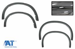 Prelungiri Aripi Extensii Aripi compatibil cu BMW X5 F15 (2014-2018) M-Design M-Sport Carbon Look - WABMF15CF