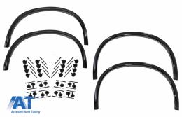 Prelungiri Aripi Extensii Aripi Negru Lucios cu Set 32 Piese Clipsuri compatibil cu BMW X5 F15 (2014-2018) M-Design - COWABMF15MCLIPS