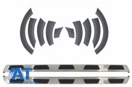Prelungiri Aripi Extensii Aripi Praguri Laterale compatibil cu AUDI Q7 2010-2015 Facelift - CORBA01OEFFA03