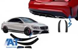 Prelungiri Extensii Bara compatibil cu MERCEDES Benz CLA W117 C117 X117 (2013-2018) CLA45 AMG Design - COCBSPMBW117AMG2