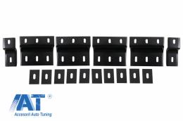 Prinderi Praguri Laterale Trepte Laterale Metal compatibil cu HYUNDAI Santa Fe (2014-up) - BRBHYSFE2