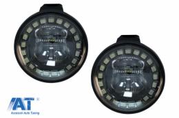 Proiectoare ceata LED compatibil cu Motociclete BMW R1200GS / ADV K1600 / R1100GS / F800GS - FLMOTOBMLED