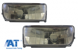 Proiectoare faruri ceata compatibil cu BMW Seria 3 E36 1991-1999  fumuriu - NLB01JB