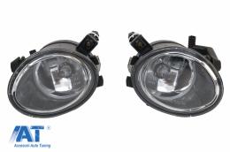 Proiectoare Lumini de Ceata compatibil cu BMW Seria 3 E46 (1998-2003) Seria 5 E39 (1996-2002) Versiunea Sport Clar - NLB03C