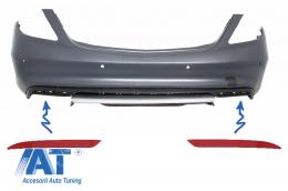 Reflectorizanti Bara Spate Catadioptru compatibil cu MERCEDES W222 S-Class GLE W166 C292 GLC 63 X253 C217 Design - RBRMBW222