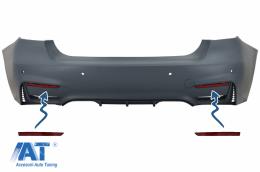 Reflectorizanti Catadioptru compatibil cu BMW Seria 3 F30 (2011-2019) doar Bara Spate M3 Design - RBRBMF30M3