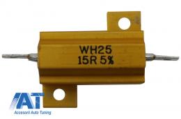 Rezistor WH25-15RJI Anulator Eroare Bec Ars Canbus Stopuri Faruri - WH25-15RJI