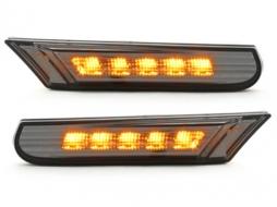 Semnalizari aripi LED compatibil cu PORSCHE 996 Carrera 4S 991 Turbo fumuriu - - SPO02DL