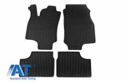 Set 4 covorase auto din cauciuc PETEX, negru, compatibil cu compatibil cu OPEL Astra G 03/1998-03/2004, Coupe 03/2000-12/2001- - 58010