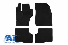 Set 4 covorase auto din mocheta, negru, compatibil cu Dacia Duster 01/2014-12/2017- - 112746002