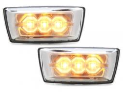 side markers Opel Astra J GTC 2010+, Adam 2012+, Corsa D 06+, Insignia chrome - SO05E