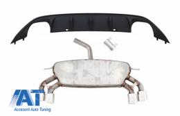 Sistem de evacuare cu Difuzor Bara Spate compatibil cu VW Golf 7 VII MK7 (2013-2017) ABT Design - COESVWG7RBFABT