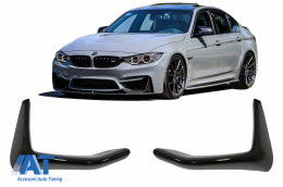 Splitter Prelungire Bara Fata Negru Lucios compatibil cu BMW F80 M3 F82/F83 M4 (2014-2019) - FLSBMF80MPB