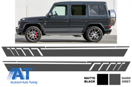 Stickere Laterale Mercedes Benz W463 G-Class W463 (1989-up) Gri Inchis