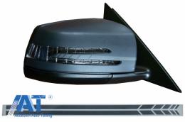 Stickere Oglinzi Laterale Gri Inchis compatibil cu MERCEDES Benz Coupe C238 A B C E S Class CLA GLA CLS GLK W246 W204 W176 W117 W212 W207 W218 X156 X204 W221 - STICKERMIRRORDG