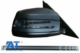 Stickere Oglinzi Laterale Negru Mat compatibil cu MERCEDES Benz Coupe C238 A B C E S Class CLA GLA CLS GLK W246 W204 W176 W117 W212 W207 W218 X156 X204 W221 - STICKERMIRRORMB