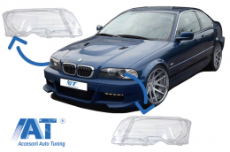 Sticle Far compatibil cu BMW E46 Coupe Cabrio (1998-2003) - HGBME462D