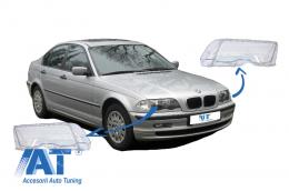 Sticle Faruri  compatibil cu BMW Seria 3 E46 (1998-2001) Pre Facelift - HGBME464D