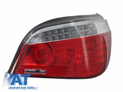 Stop Dreapta compatibil cu BMW Seria 5 E60 (2007-2010) LCI Rosu Clar OE 63217177282 - 1224190