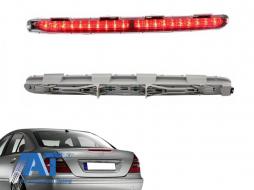 Stop Frana LED compatibil cu MERCEDES E-Class W211 (2006-2009) Rosu - TBLMBW211