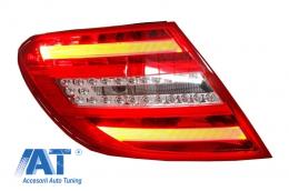 Stop LED Mercedes C-Class W204 Facelift (2012-2014) Light Bar Stanga - TLMBW204FL