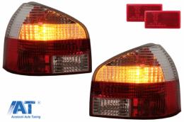 Stopuri  Audi A3 8L 09.96-04_rosu/crom - RA01DRC