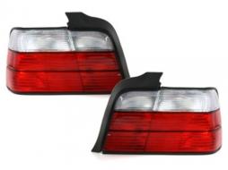 Stopuri compatibil cu BMW E36 Lim. 92-98 rosu/cristal - RB11E
