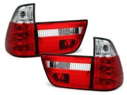 Stopuri compatibil cu BMW X5 00-02   rosu cristal 4-piese - RB23