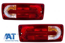 Stopuri compatibil cu MERCEDES Benz W463 G-Class (1989-2015 Rosu/Clar G55 OEM Look - TLMBW463RCOEM