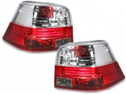 Stopuri compatibil cu VW Golf IV 97-04 rosu/cristal - RV02DRC